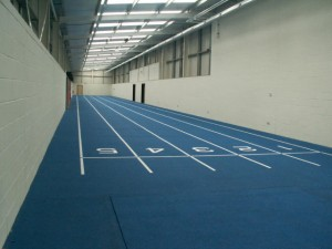 Leverhulme Park Athletics Stadium Indoor Track